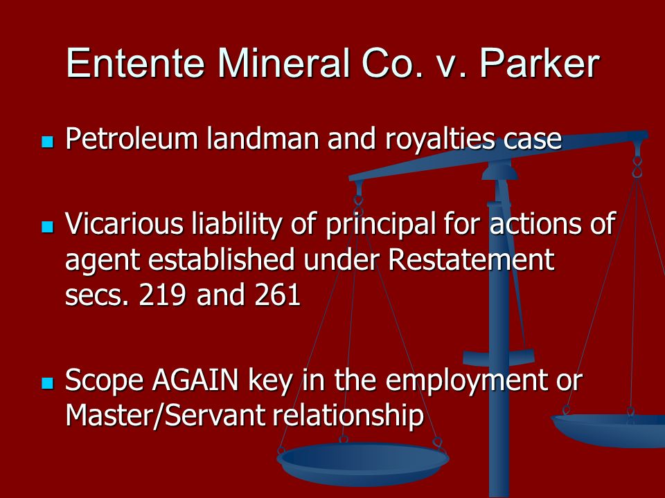 Entente Mineral Co. v.