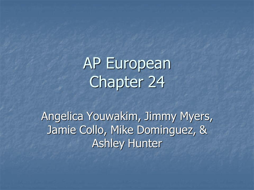 AP European Chapter 24 Angelica Youwakim, Jimmy Myers, Jamie Collo, Mike Dominguez, & Ashley Hunter