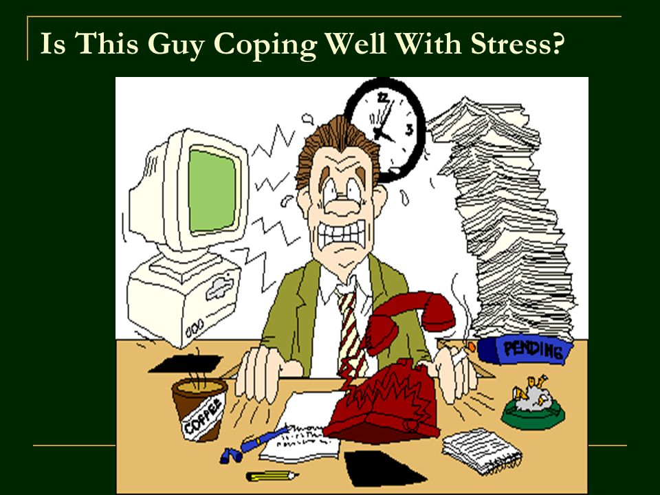 ©John Wiley & Sons, Inc. 2007 Huffman: Psychology in Action (8e) Is This Guy Coping Well With Stress?