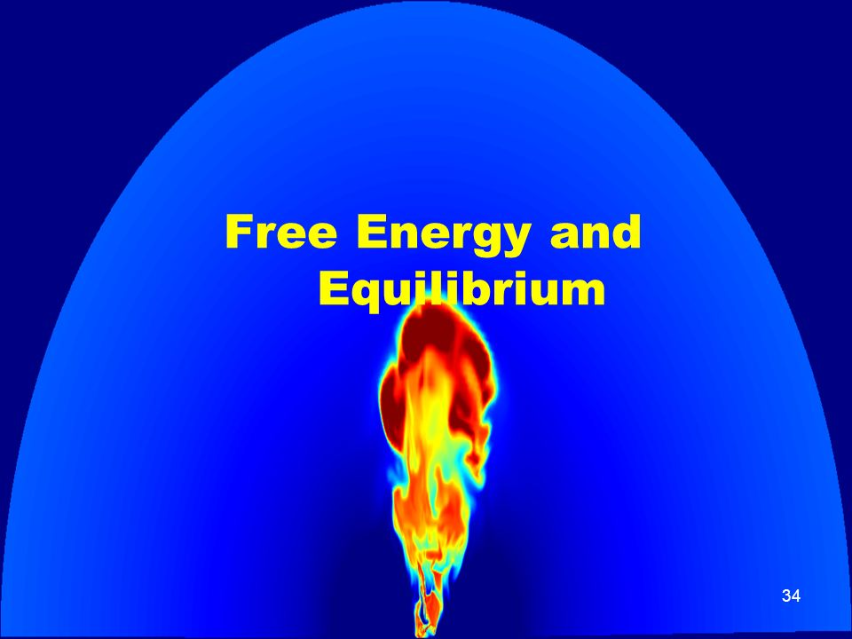 34 Free Energy and Equilibrium