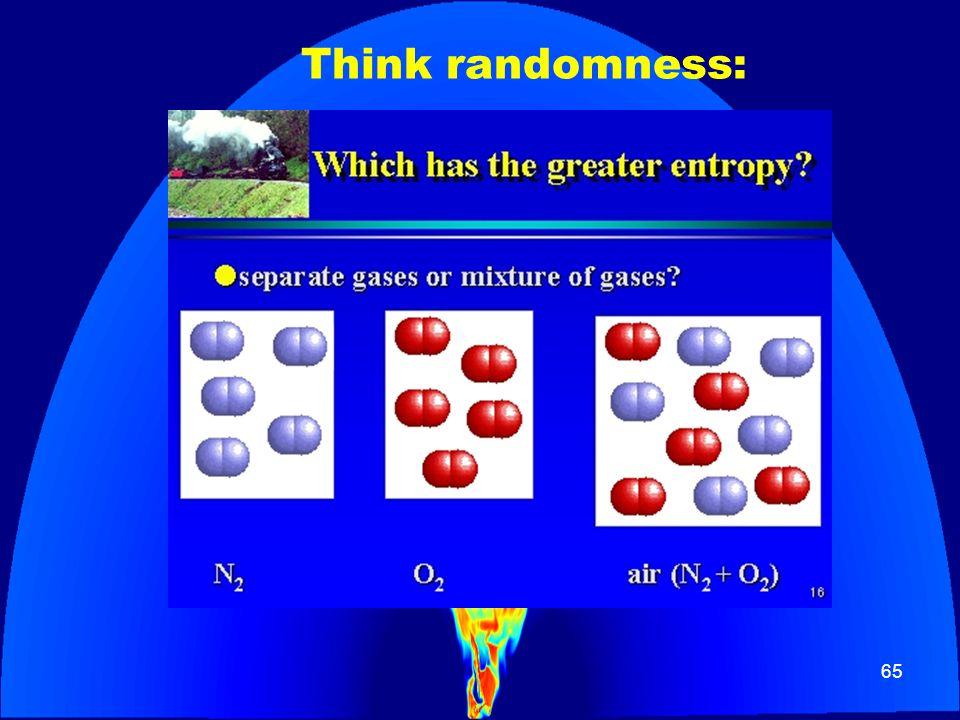 65 Think randomness: