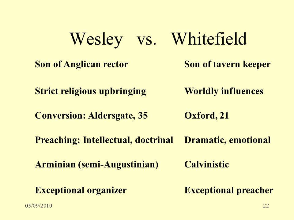 05/09/201022 Wesley vs.