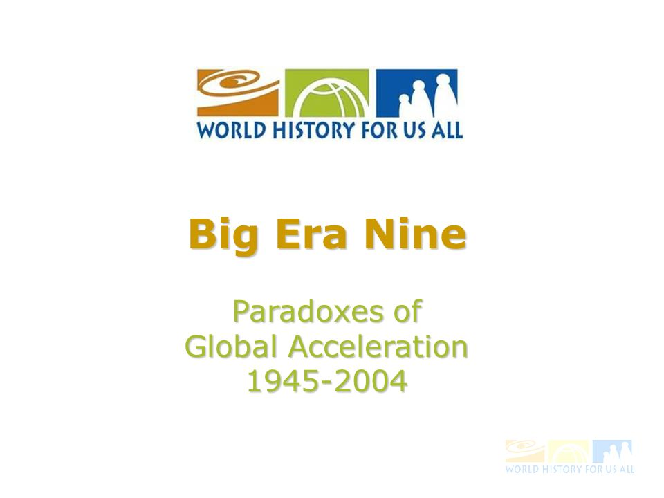 The World in 1945: 50 million people killed during WW II 50 million people killed during WW II Parts of Europe, Asia, and North Africa in ruins Parts of Europe, Asia, and North Africa in ruins World trade severely damaged World trade severely damaged Much of the world looked pretty bleak.