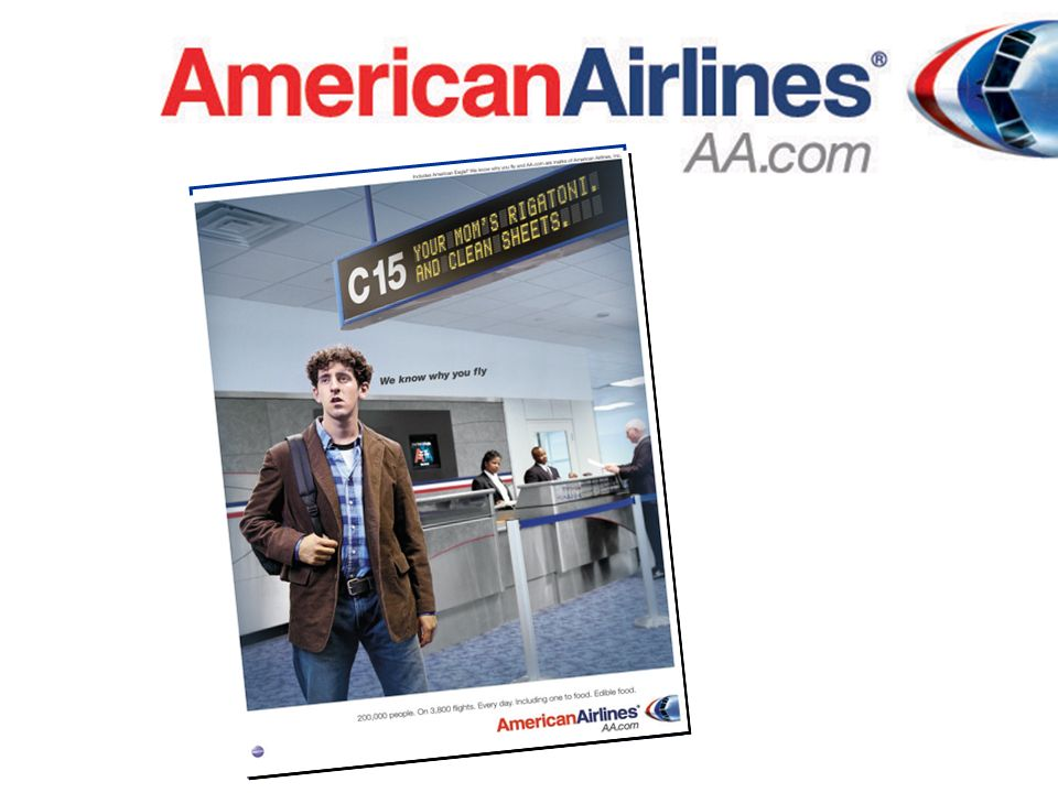 Why the Airline Industry? Lifestyle Why American Airlines?