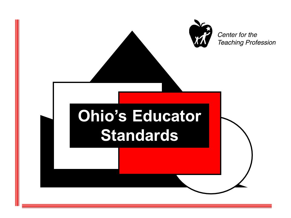 Ohios Standards for Professional Development Standard 5: High quality professional development (HQPD) is evaluated by its short- and long-term impact on professional practice and student achievement.