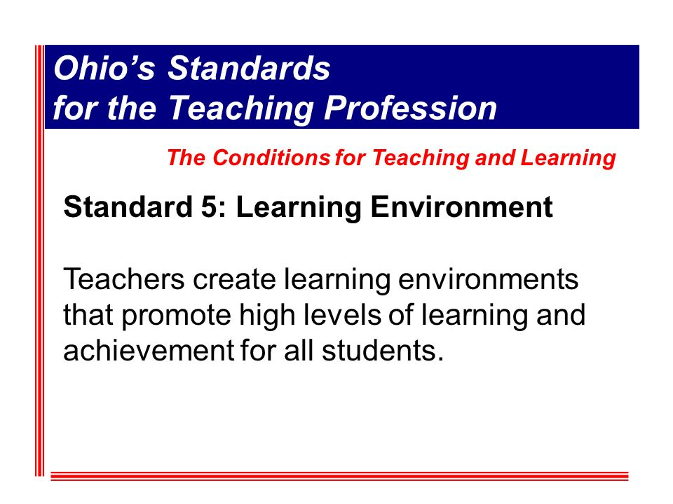Standard 1: High quality professional development (HQPD) is a purposeful, structured and continuous process that occurs over time.