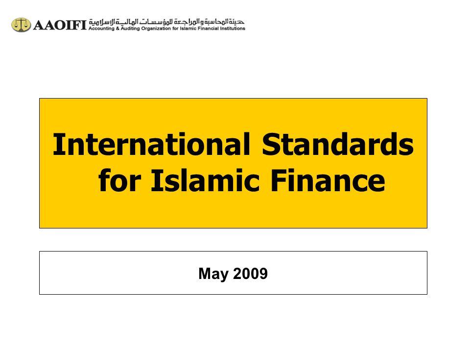 International Standards for Islamic Finance May 2009