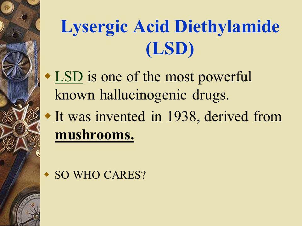 Structural Analysis Lysergic Acid Diethylamide Lysergic Acid (LSD)