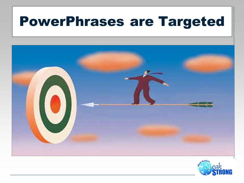 PowerPhrases are Targeted
