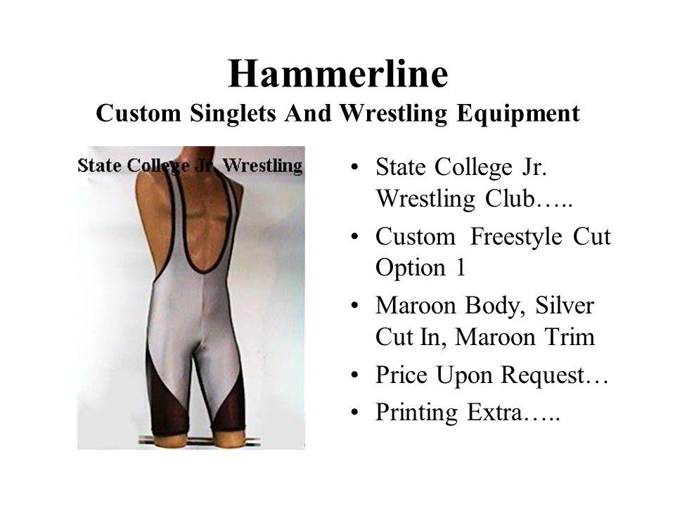 Hammerline Custom Singlets And Wrestling Equipment State College Jr.