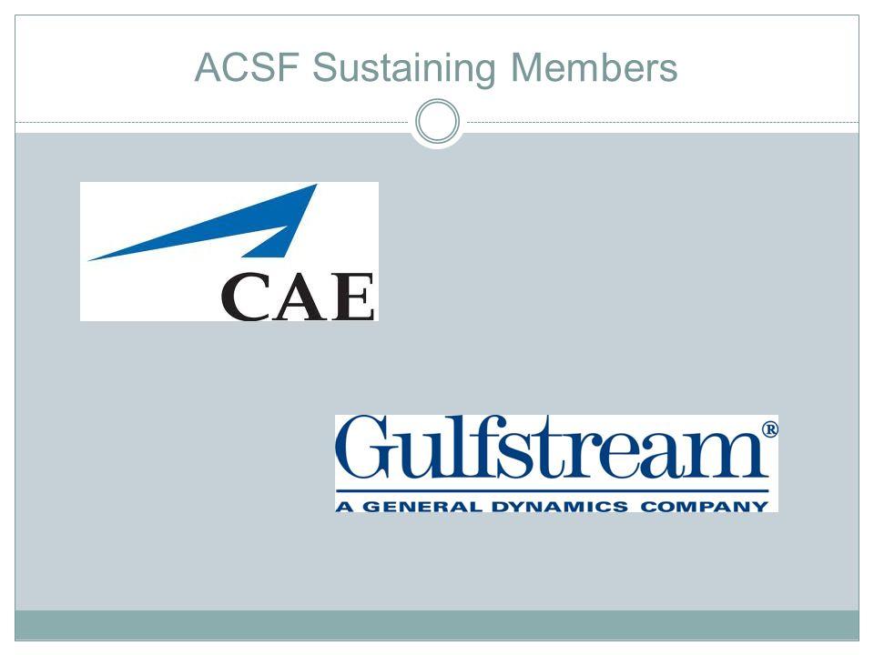 ACSF Sustaining Members