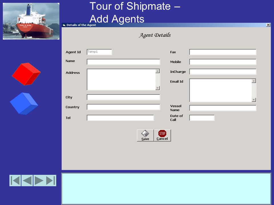 Tour of Shipmate – Manage Agents