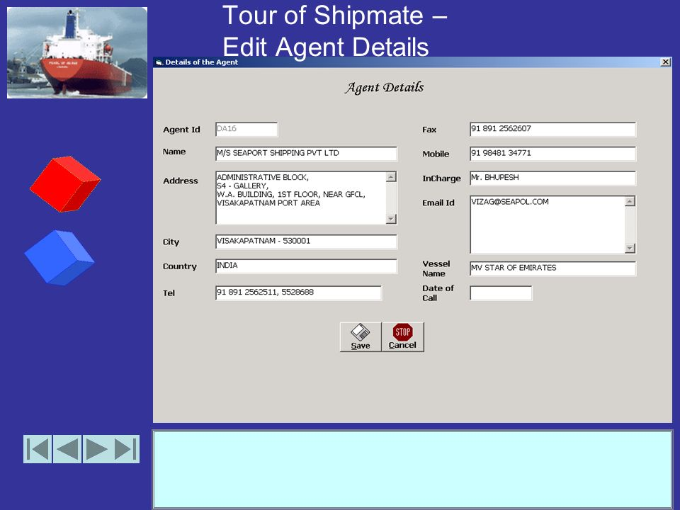 Tour of Shipmate – Add Agents