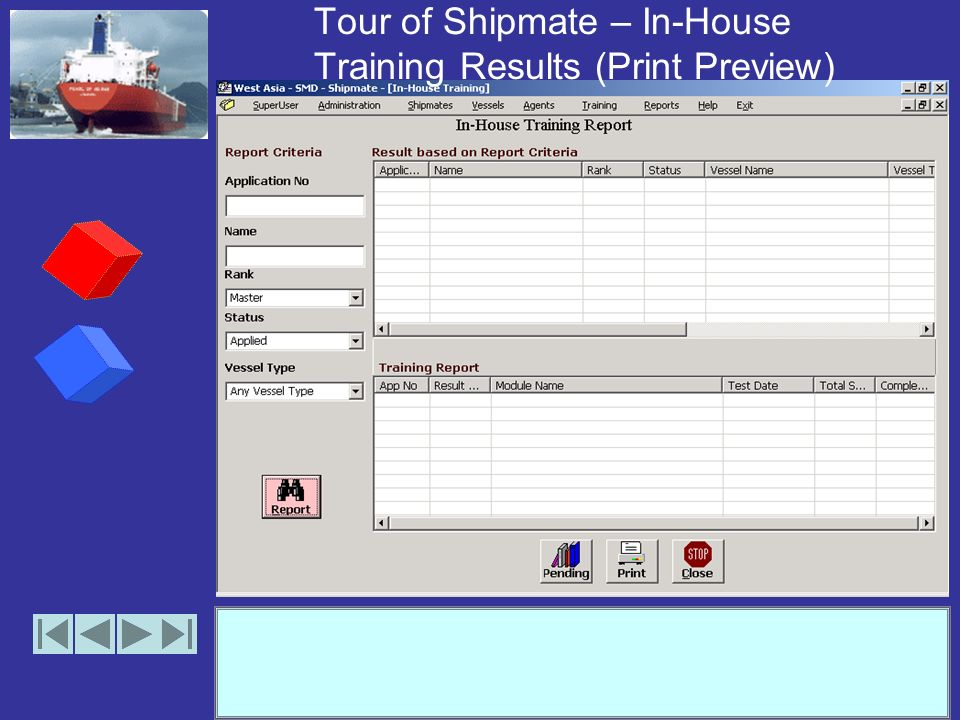 Tour of Shipmate – Edit Agent Details