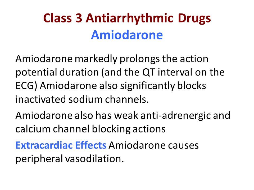 "Presentation ""Antiarrhythmic Drugs. Drug List Class 1 Sodium ..."