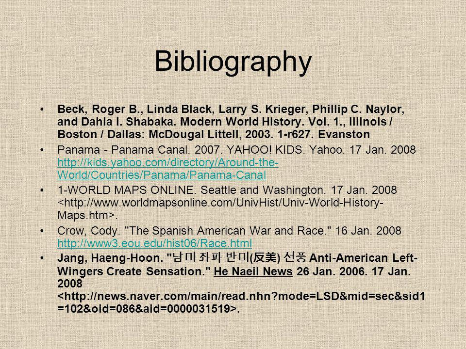 Bibliography Beck, Roger B., Linda Black, Larry S.