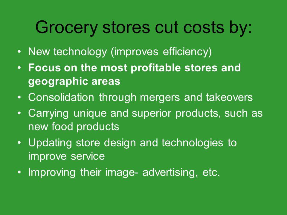 Top 5 Food Retailers SupermarketGrocery sales 1.Wal-Mart Stores$127 Billion 2.Kroger Co.$60 Billion 3.Supervalu, Inc.$34 Billion 4.Safeway, Inc.$34 Billion 5.Ahold USA, Inc.$24 Billion Source: Progressive Grocers Super 50 (March 2007)