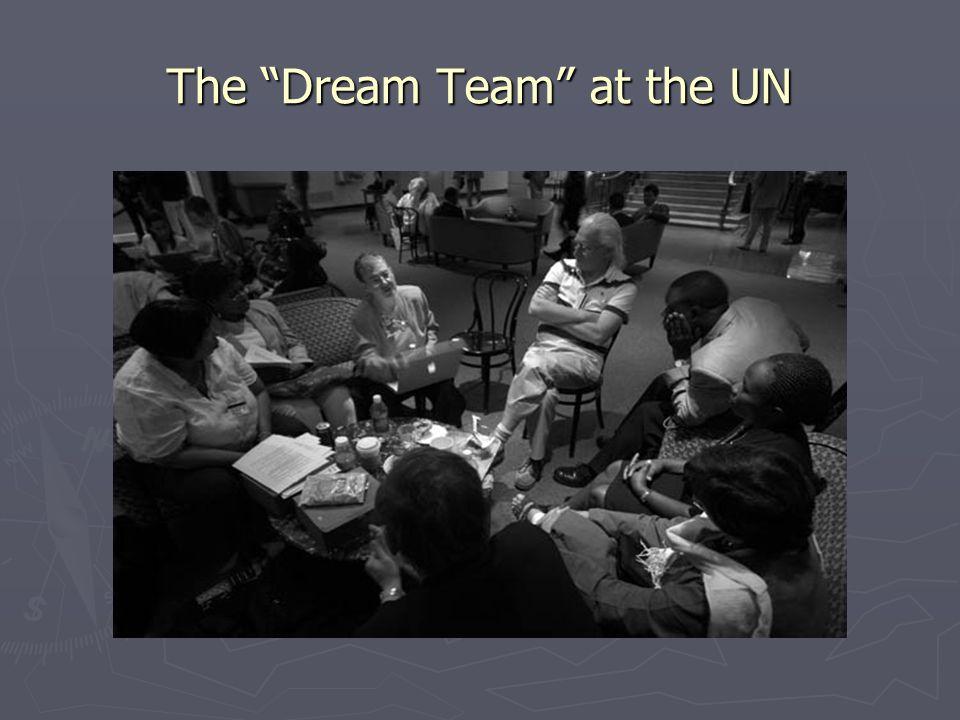 The Dream Team at the UN