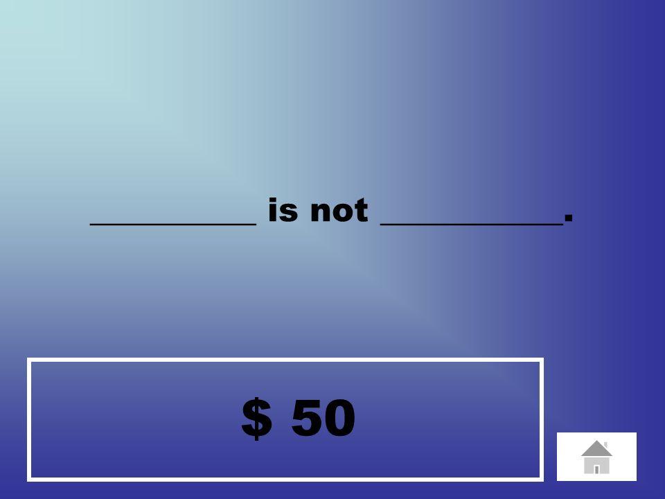 $ 100 ________ likes _________.