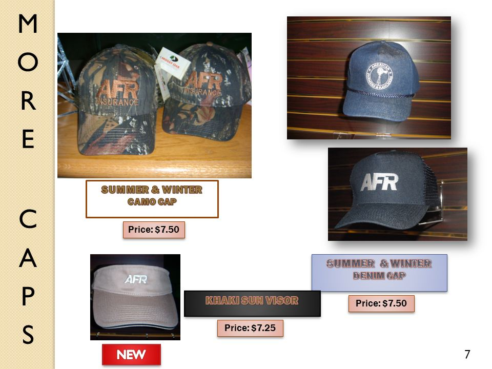 Price: $7.50 7 Price: $7.25