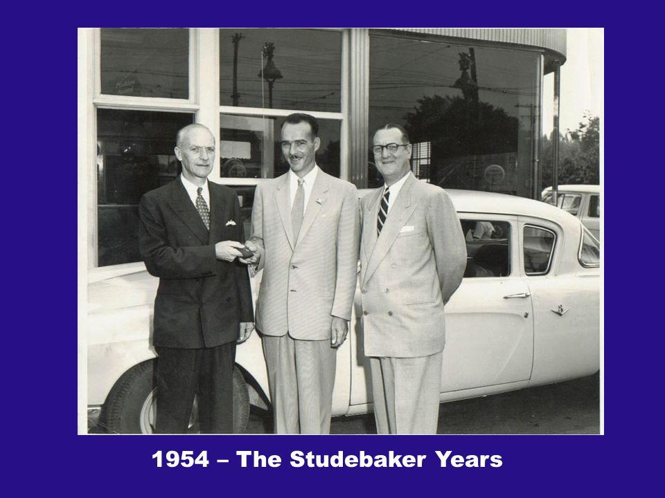 1954 – The Studebaker Years