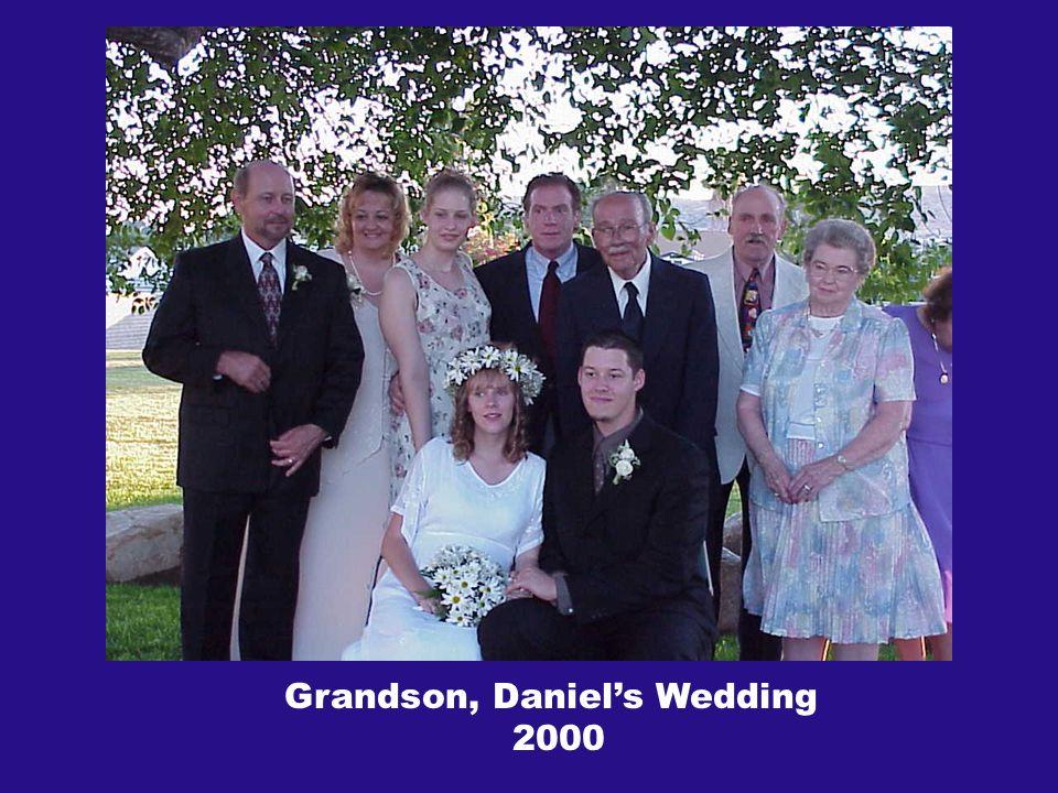 Grandson, Daniels Wedding 2000