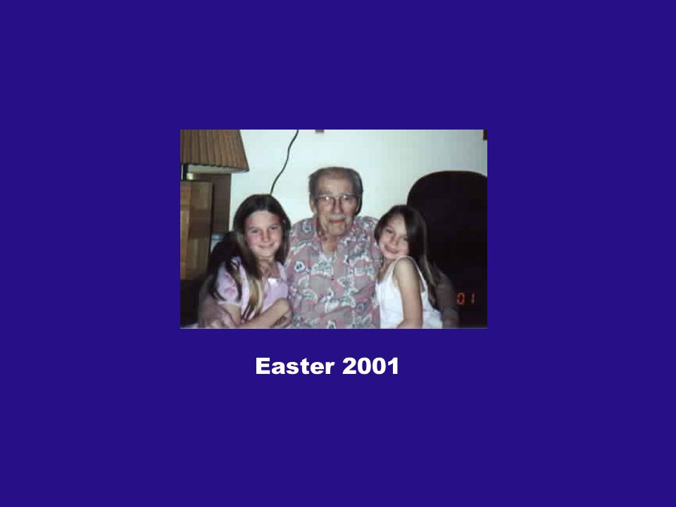 Easter 2001