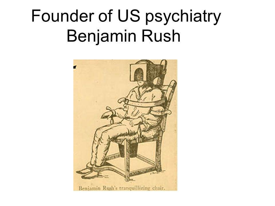 Founder of US psychiatry Benjamin Rush