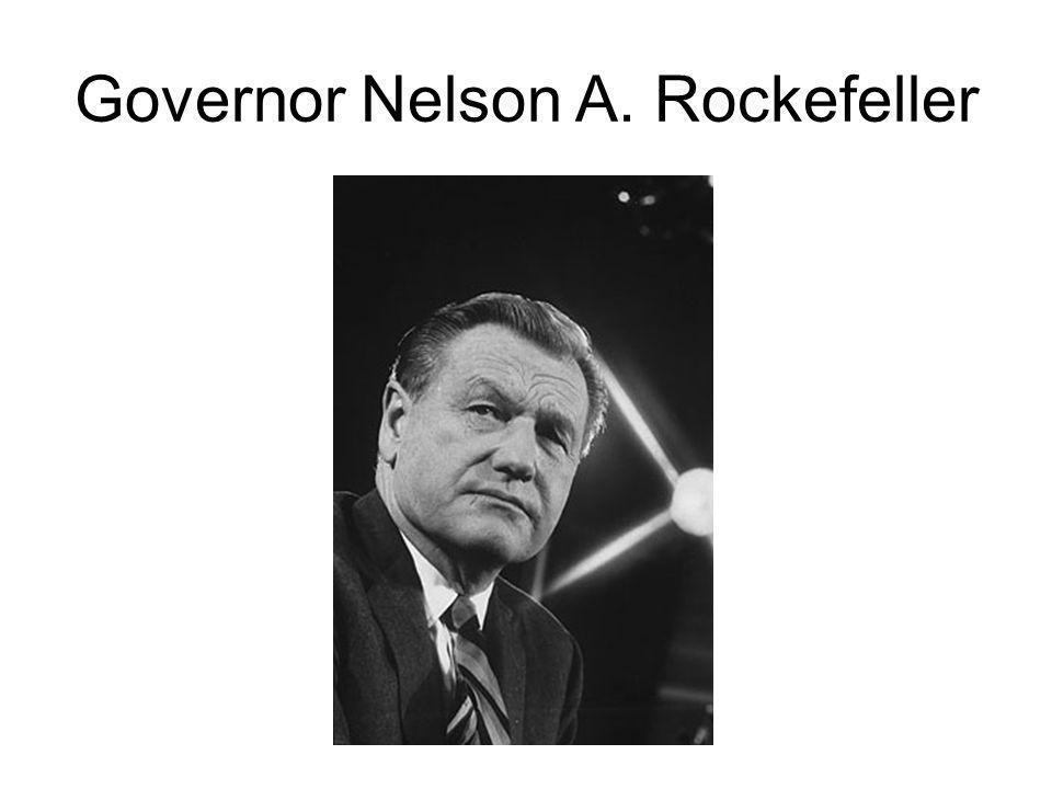 Governor Nelson A. Rockefeller