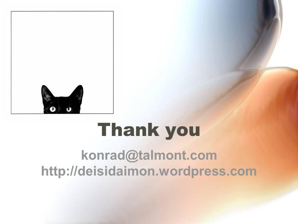 Thank you konrad@talmont.com http://deisidaimon.wordpress.com