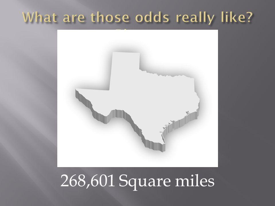268,601 Square miles
