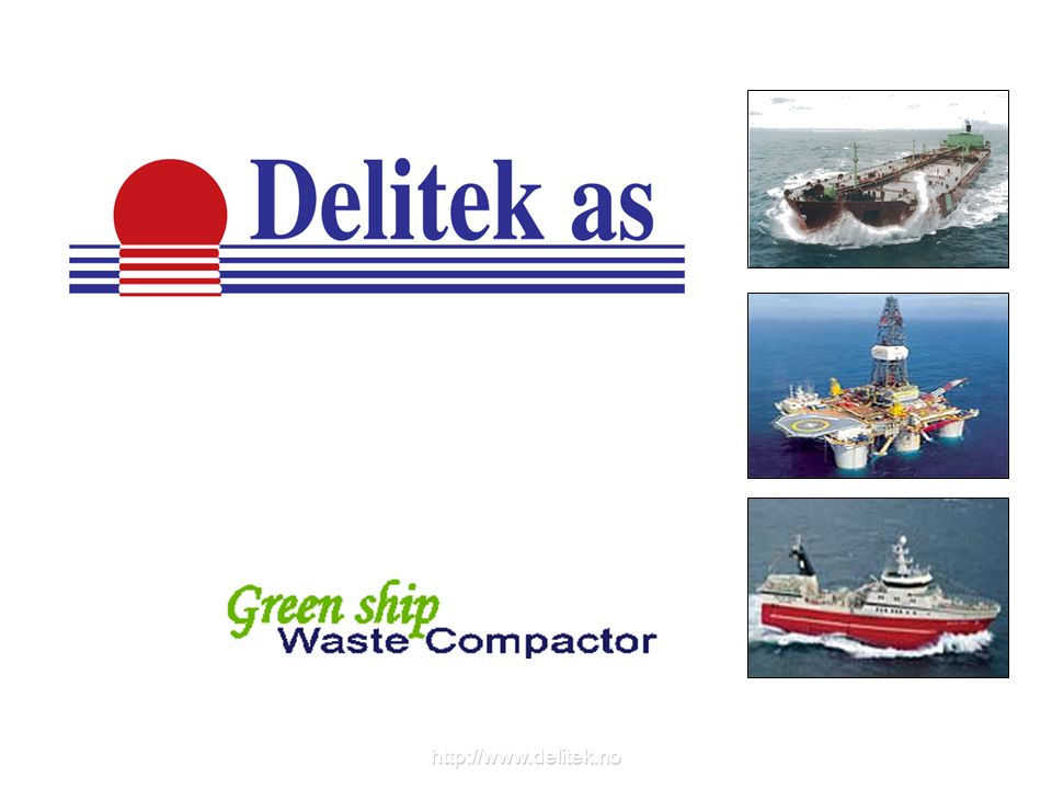 Segregation with Delitek waste compactors Extra containers can be added later, in order to tailor made a complete system for waste segregation.