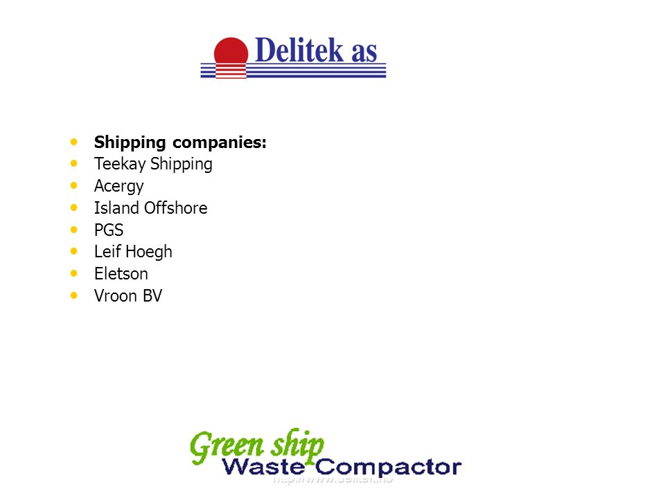 http://www.delitek.no DT-1000B AND DT-1500B Large capacity bale compactors For paper, cardboard and PVC materials.