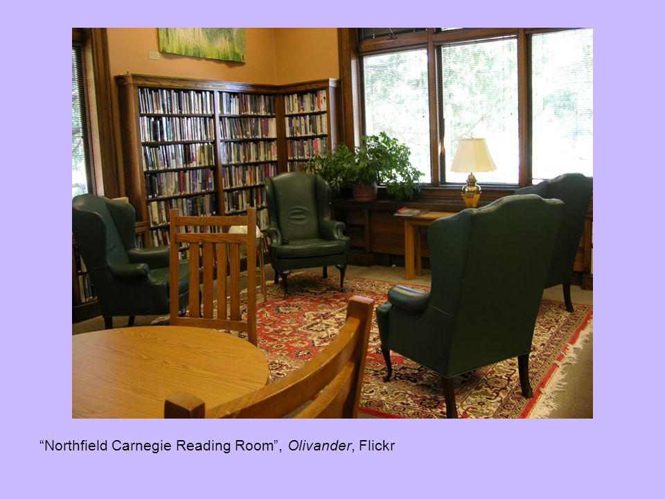 Northfield Carnegie Reading Room, Olivander, Flickr