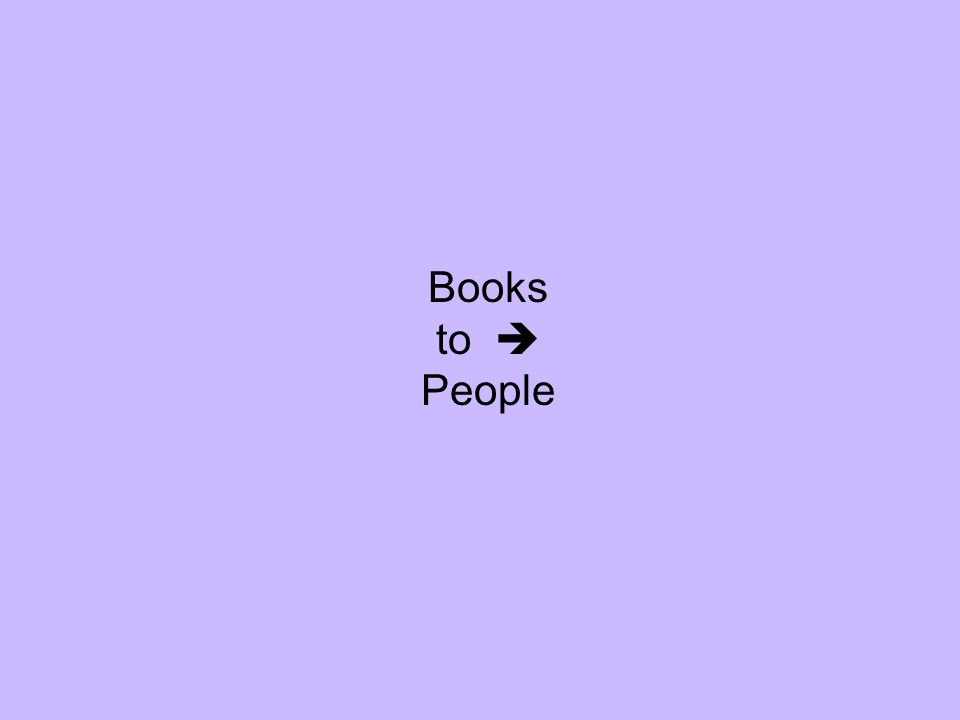 Books to People