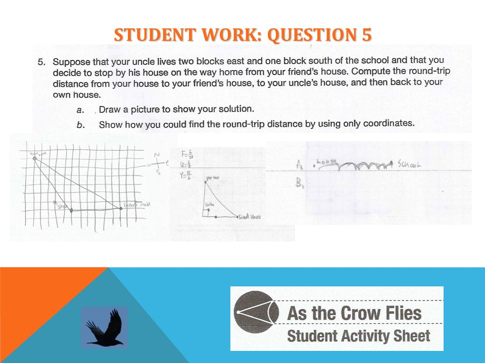STUDENT WORK: QUESTION 5