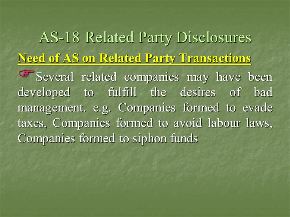 Para-3 b)Associates, and joint ventures of the reporting enterprise and the investing party or venturer in respect of which the reporting enterprise is an associate or a joint venture;