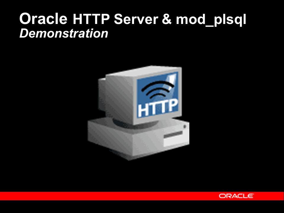 Oracle HTTP Server & mod_plsql Demonstration