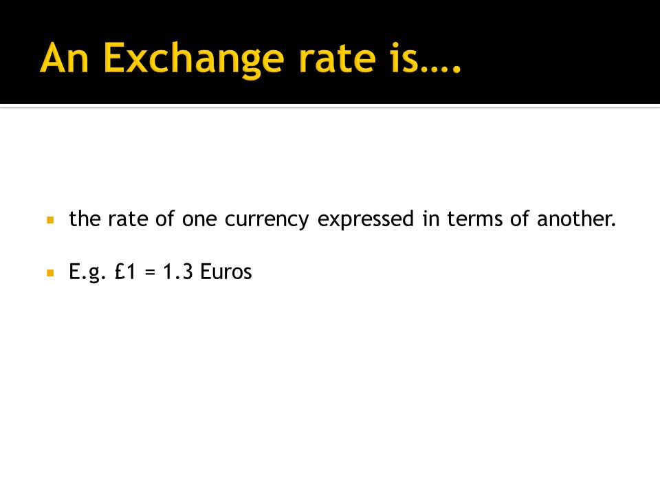 There should be an understanding that changes in the exchange rate can affect the prices of exports and imports, the level of domestic economic activity, as well as the balance of payments on current account.