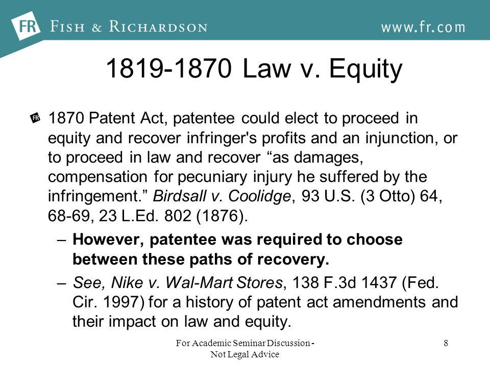 1819-1870 Law v.