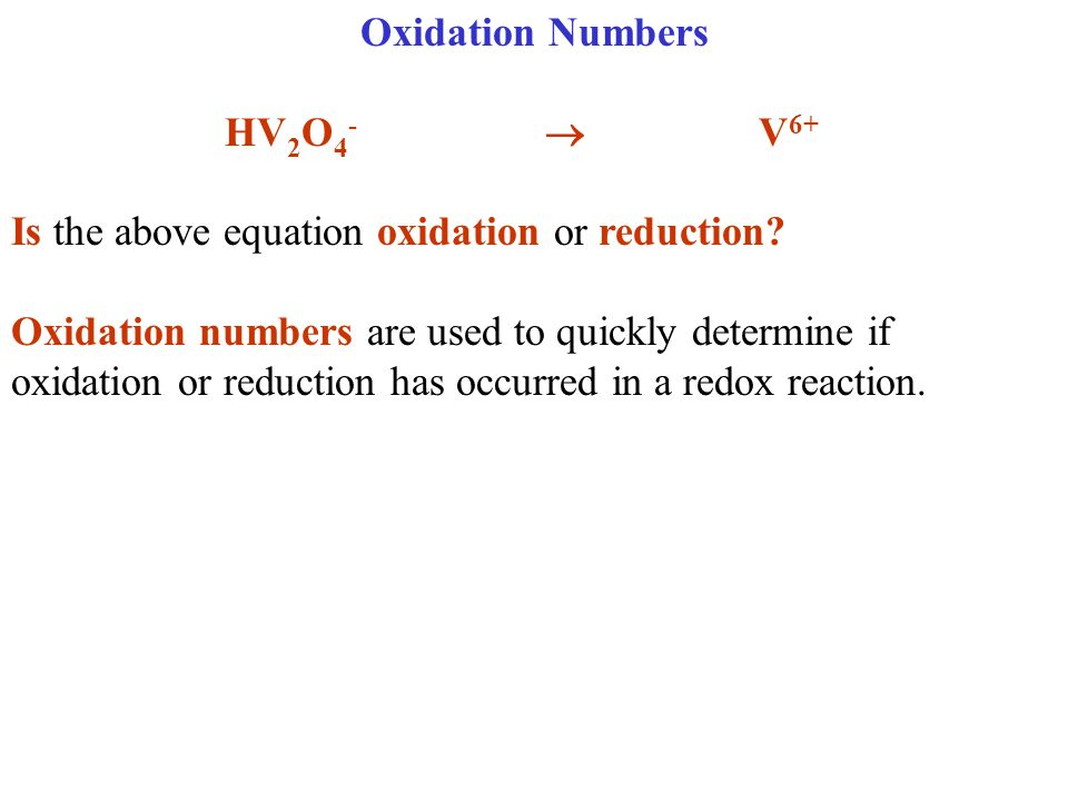 Rules for Oxidation NumbersOxidation # 1.All elements are zero: