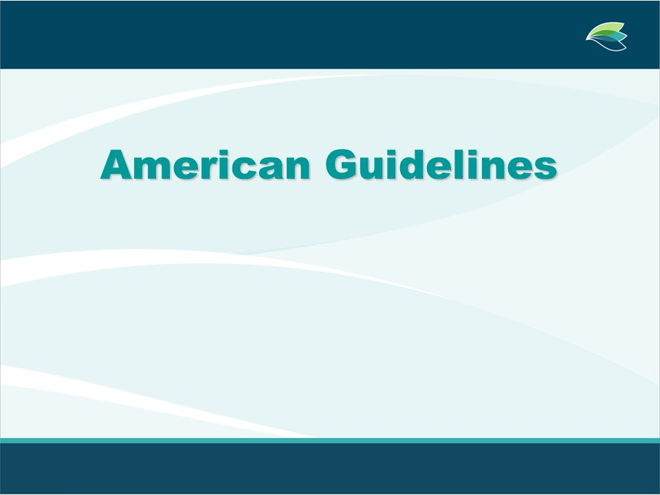 American Guidelines