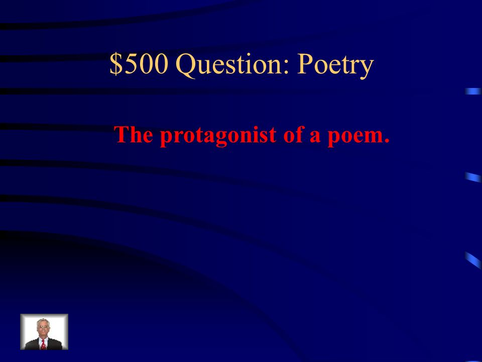 $400 Answer: Poetry What is allusion