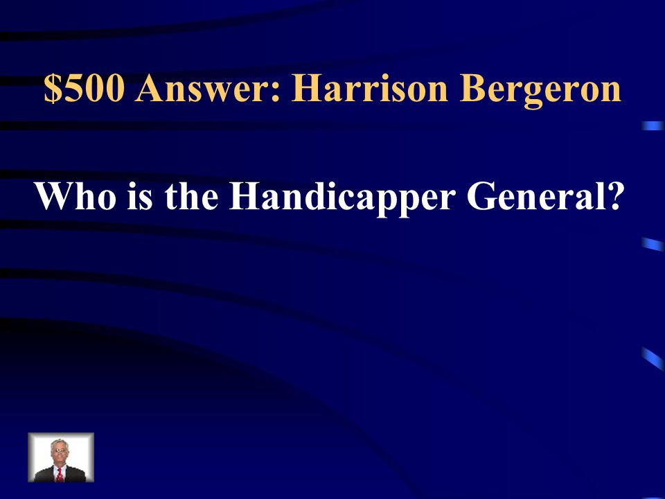 $500 Question: Harrison Bergeron Diana Moon Glampers