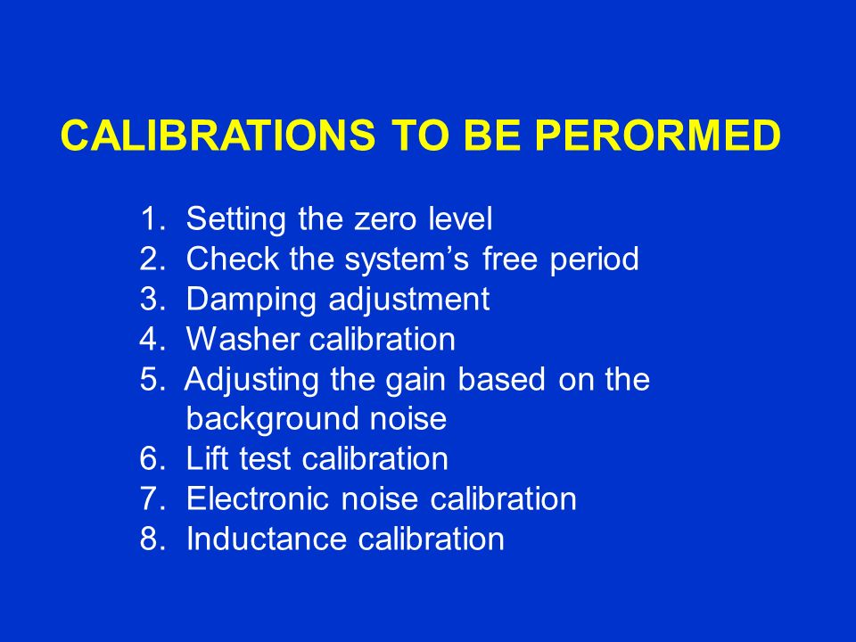 As soon as your AS-1 is setup, perform a washer calibration.