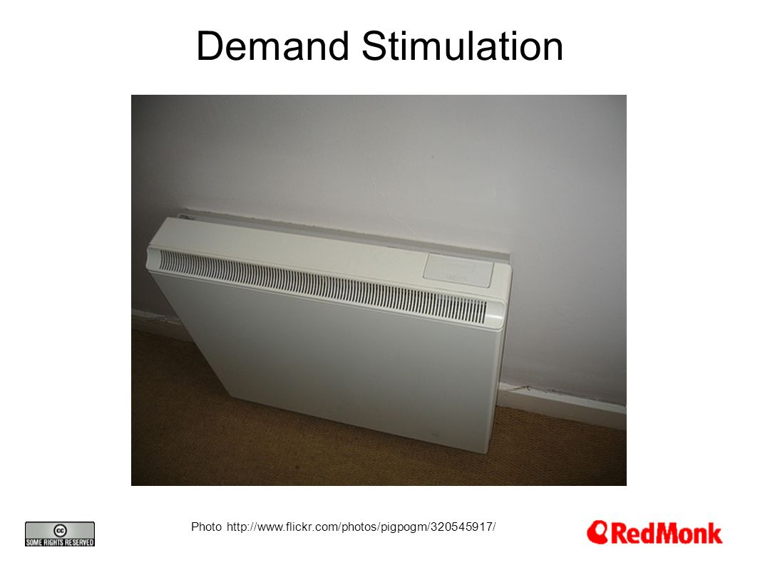 Demand Stimulation Photo http://www.flickr.com/photos/pigpogm/320545917/