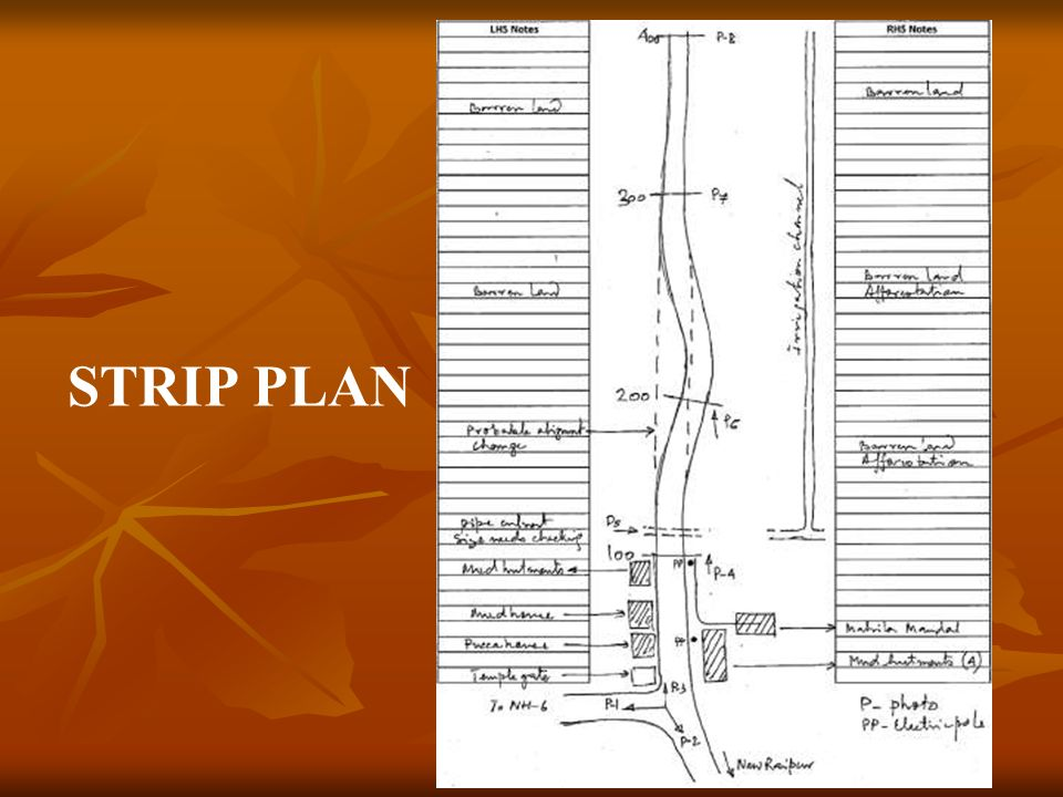 STRIP PLAN