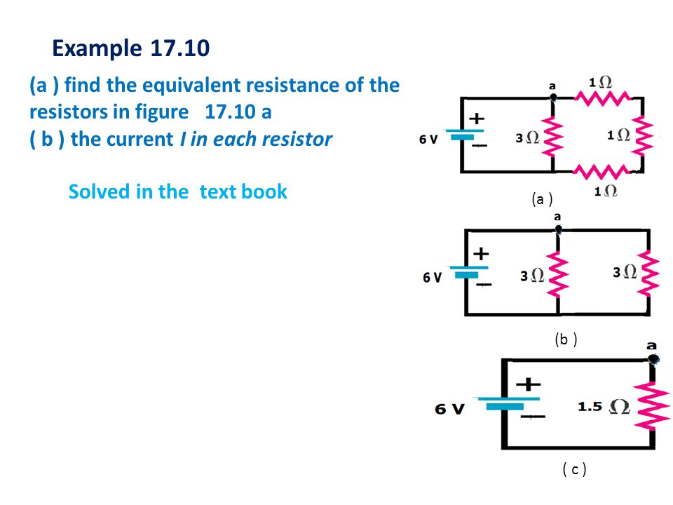 T.Norah Ali Almoneef8 V 20 10 I 30 From the circuit with source voltage V and Total current I, which resistor will have the greatest voltage across it.