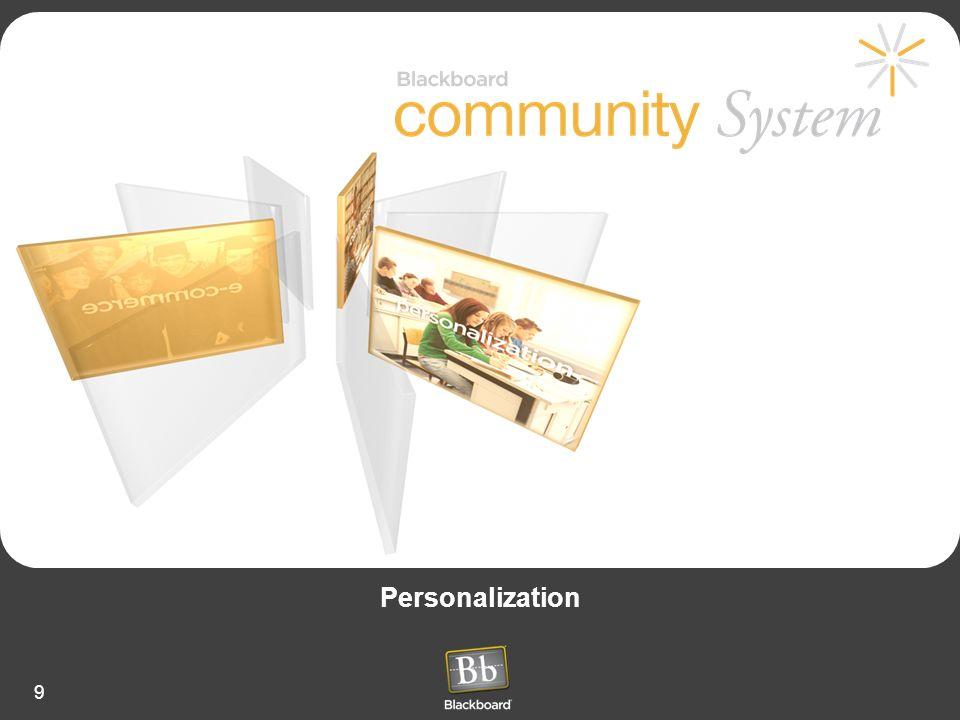 9 Personalization