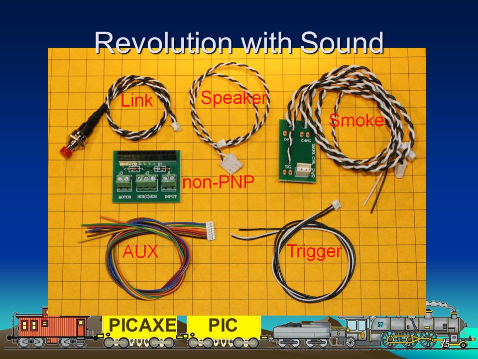PICAXEPIC 75 Revolution with Sound